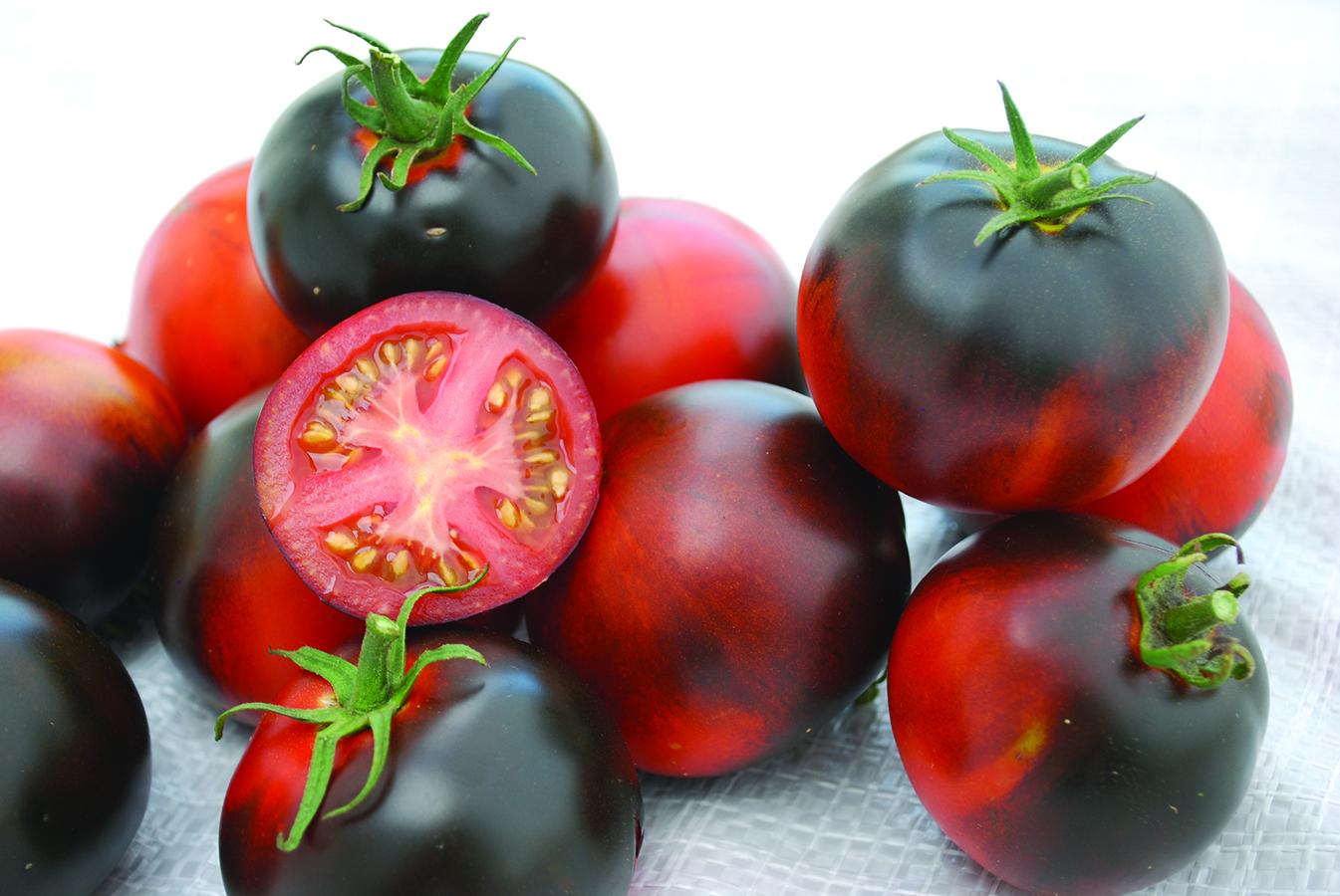 Indigo Apple Tomato